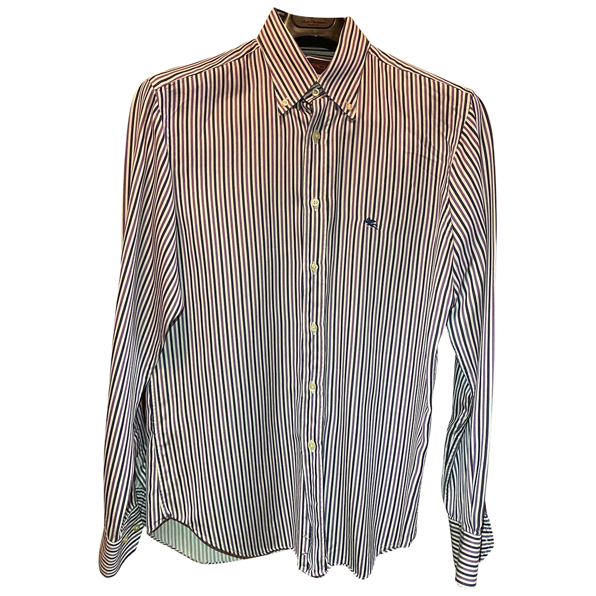 Etro - Chemises   pour homme en coton - violet