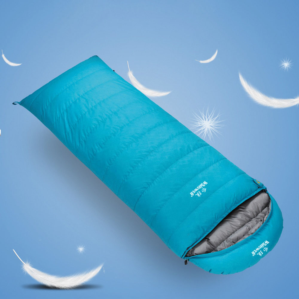 Sleeping Bags Adult Sleeping Bag Lunch Break Envelope Down Sleeping Bag 1500G White Duck Down Envelope Outdoor Camping Sleeping Bag