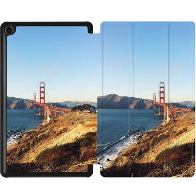 Amazon Fire 7 (2017) Tablet Smart Case - Golden Gate Galore von Omid Scheybani