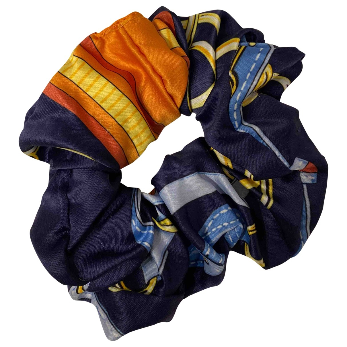 Ohne Titel \N Blue Silk Hair accessories for Women \N