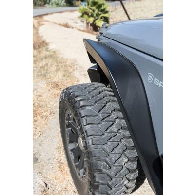 Go Rhino Trail Line 6 Inch Front Fenders (Textured Black) - 701161T
