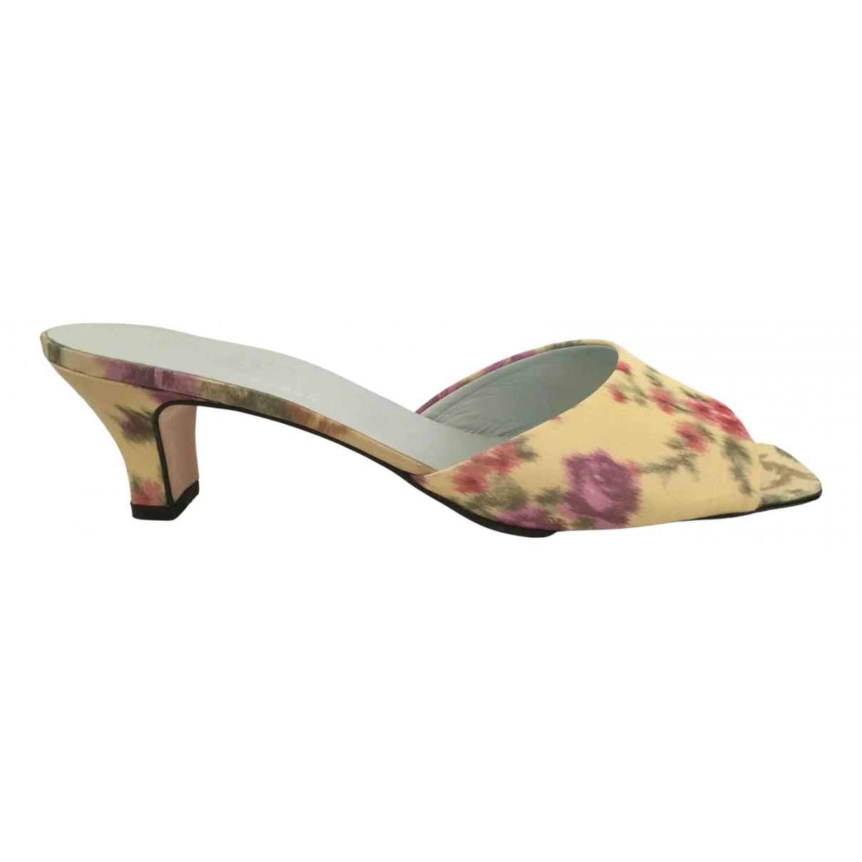 Emma Hope N Multicolour Leather Sandals for Women 39.5 EU
