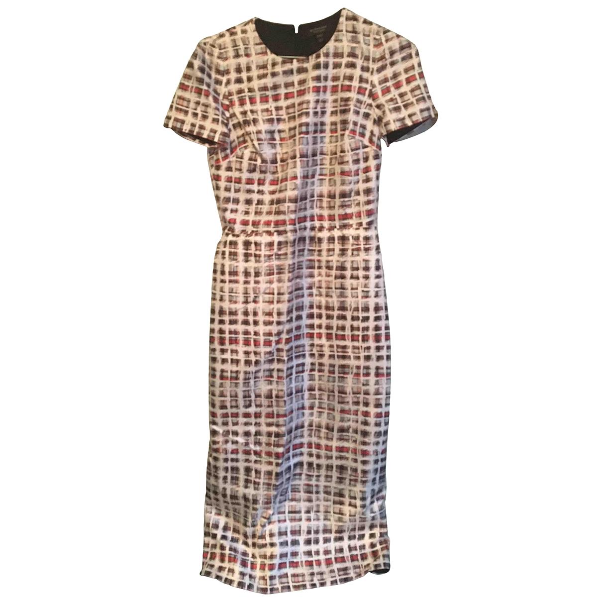 Burberry - Robe   pour femme en soie - multicolore
