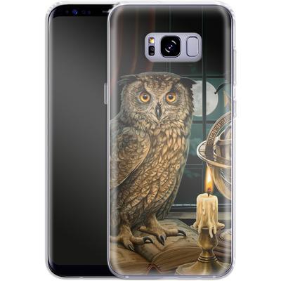 Samsung Galaxy S8 Plus Silikon Handyhuelle - The Astrologer von Lisa Parker