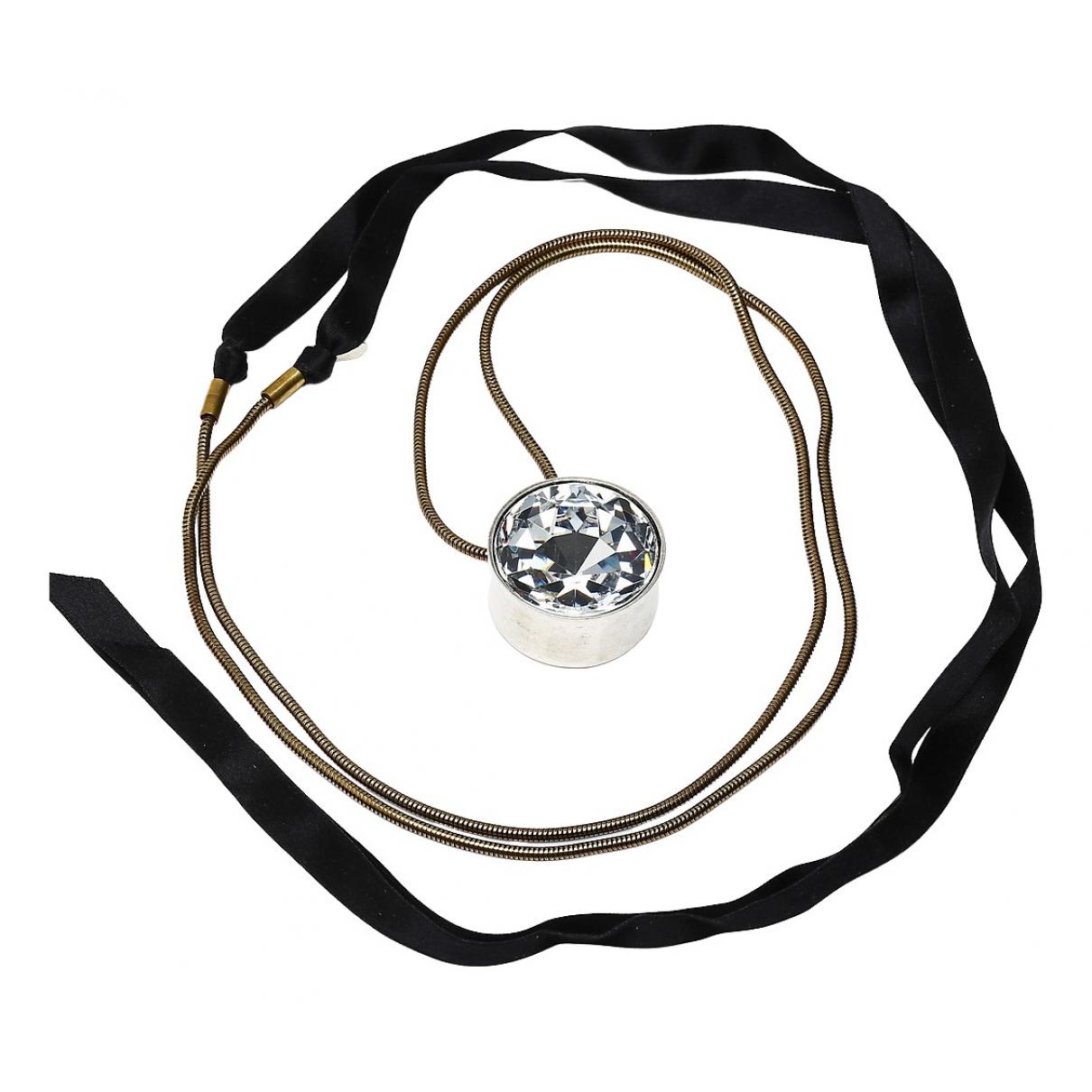 Lanvin - Collier   pour femme en metal - metallise