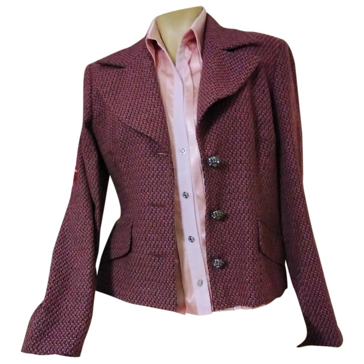 D&g - Veste   pour femme en laine - rose