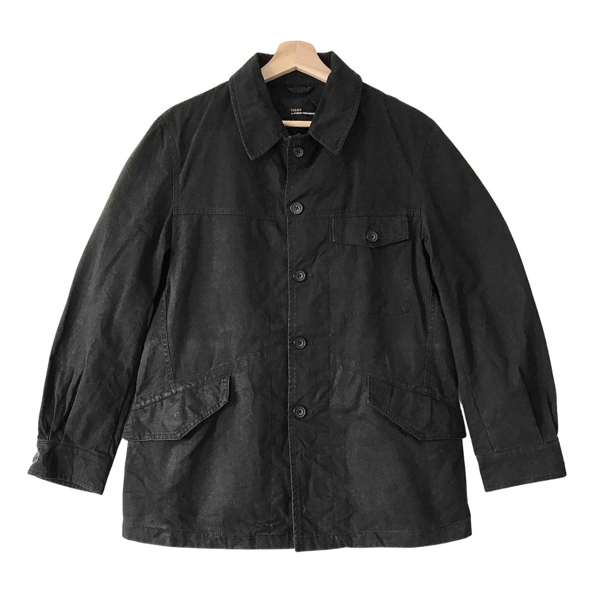 Kansai Yamamoto - Vestes.Blousons   pour homme en coton - noir