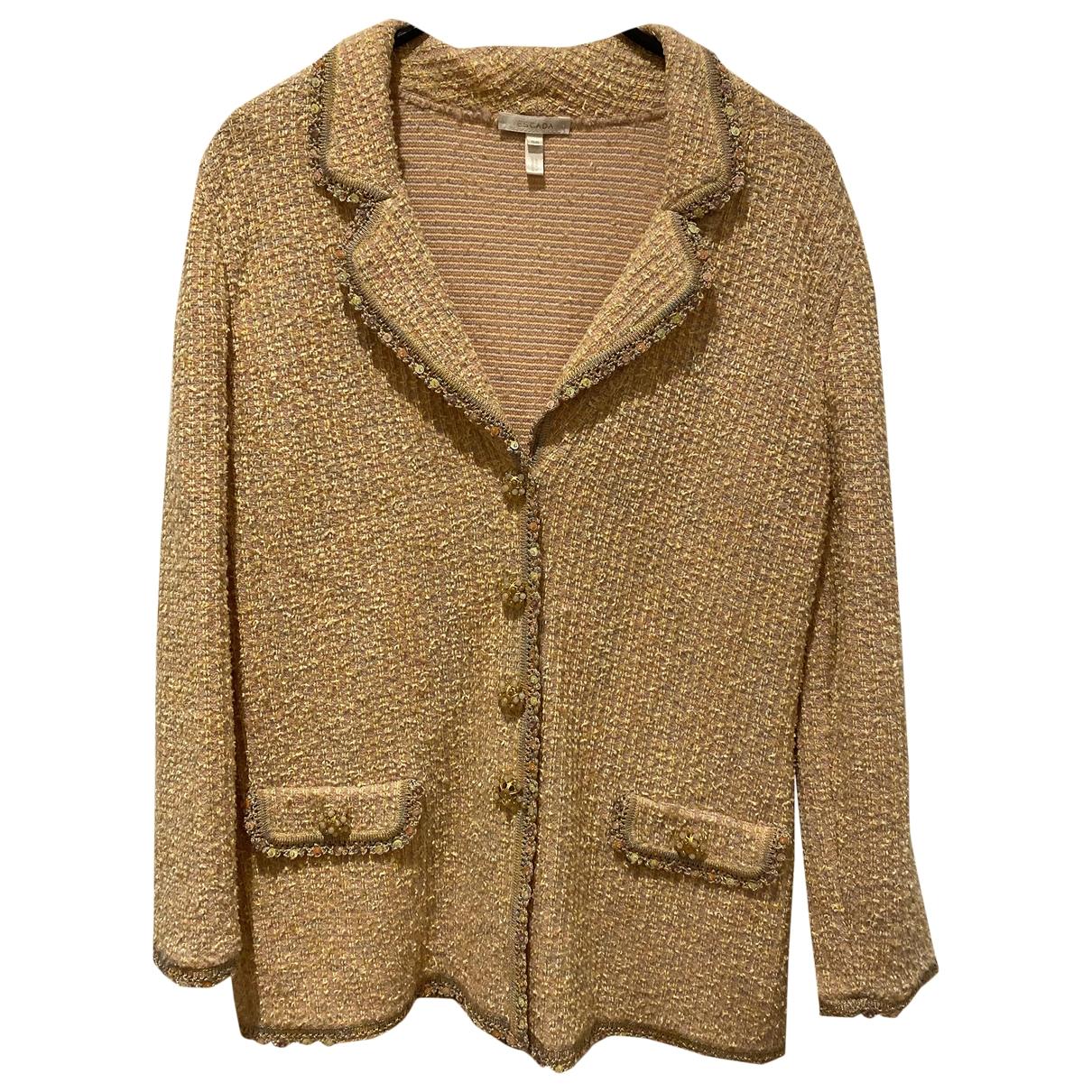 Escada - Veste   pour femme en laine - rose