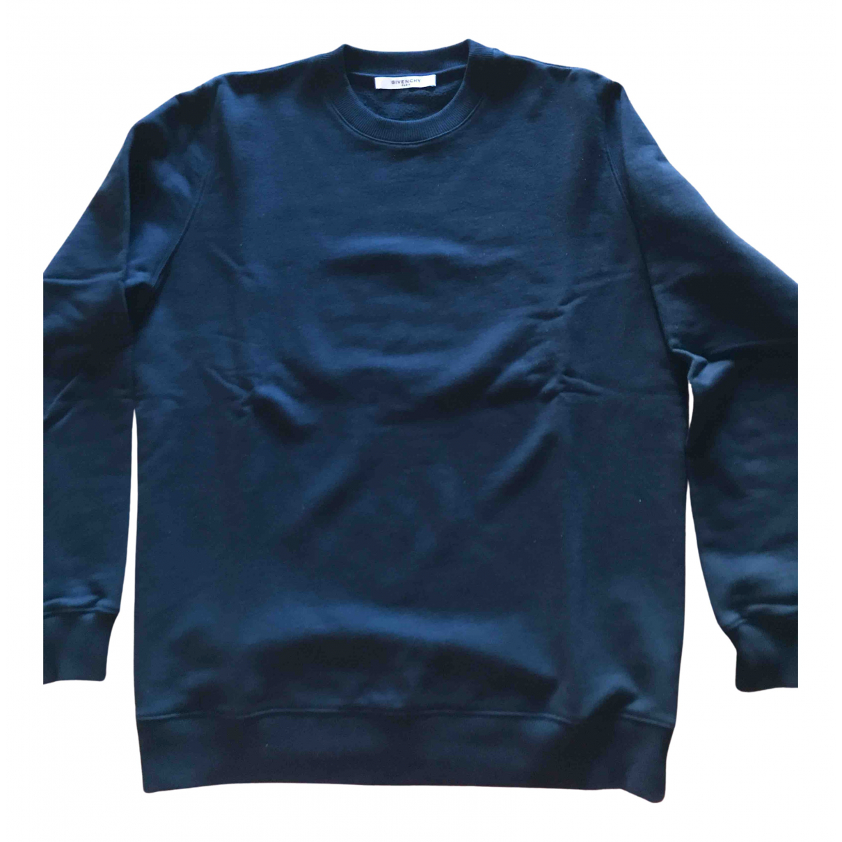 Givenchy N Black Cotton Knitwear & Sweatshirts for Men M International