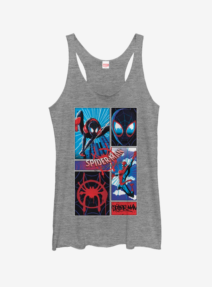 Marvel Spider-Man Comic Spiders Womens Tank