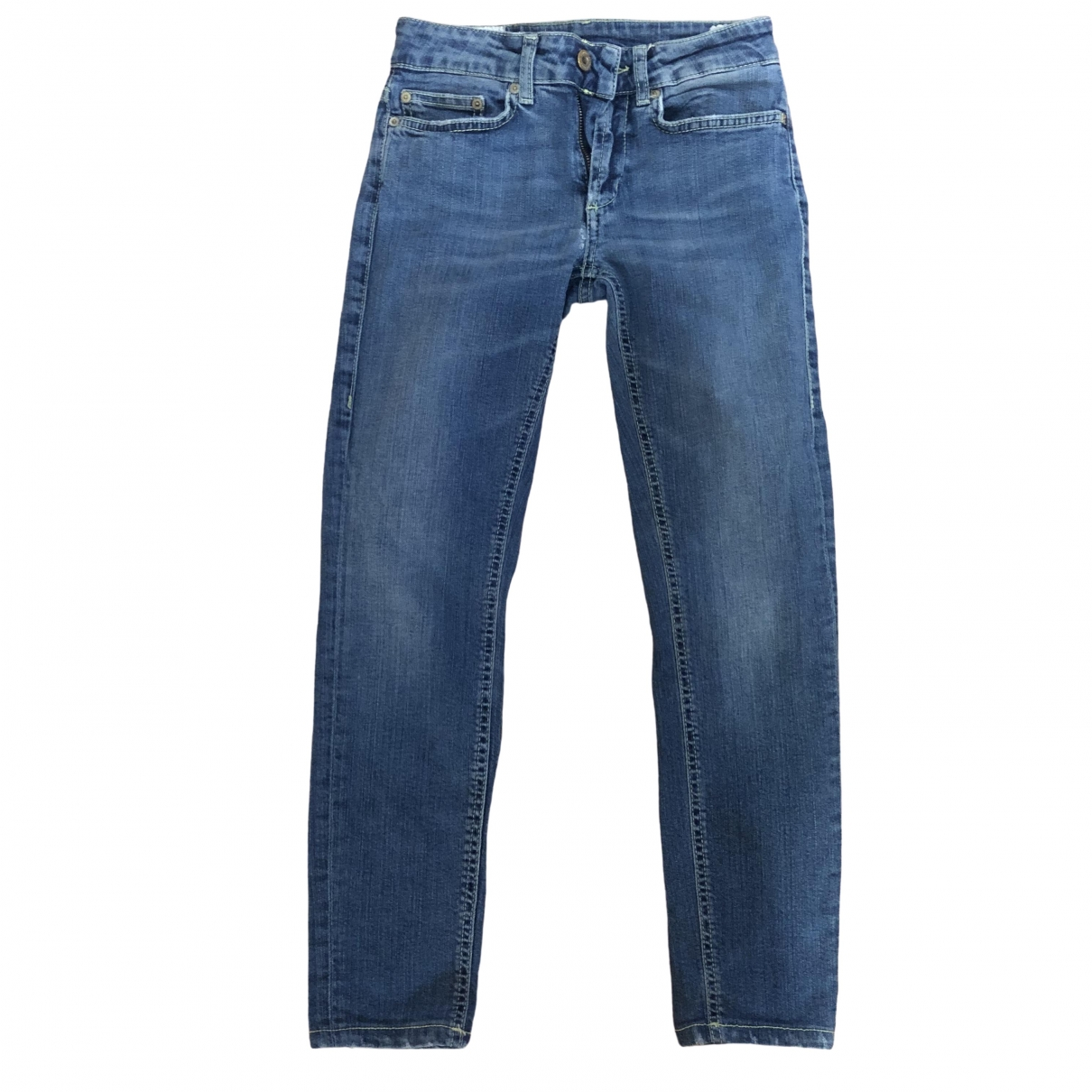 Dondup \N Blue Cotton - elasthane Jeans for Women 25 US