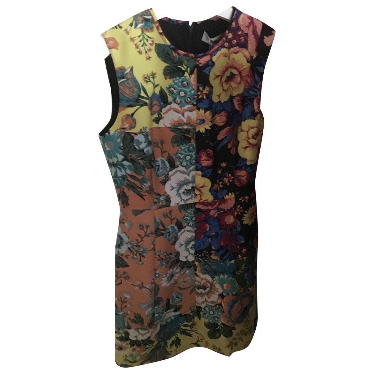Diane Von Furstenberg \N Multicolour Wool dress for Women 6 US