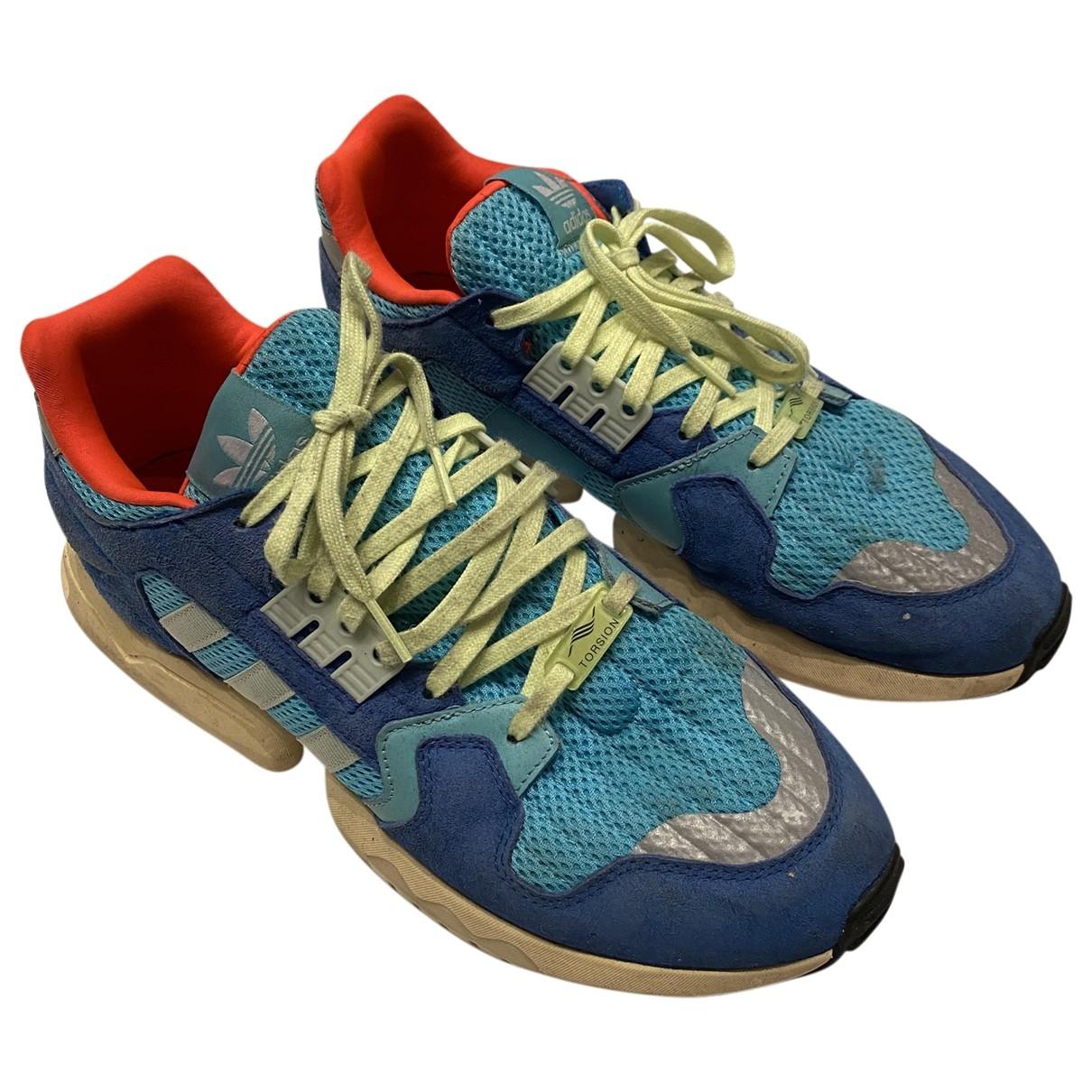 Adidas - Baskets   pour homme en toile - multicolore
