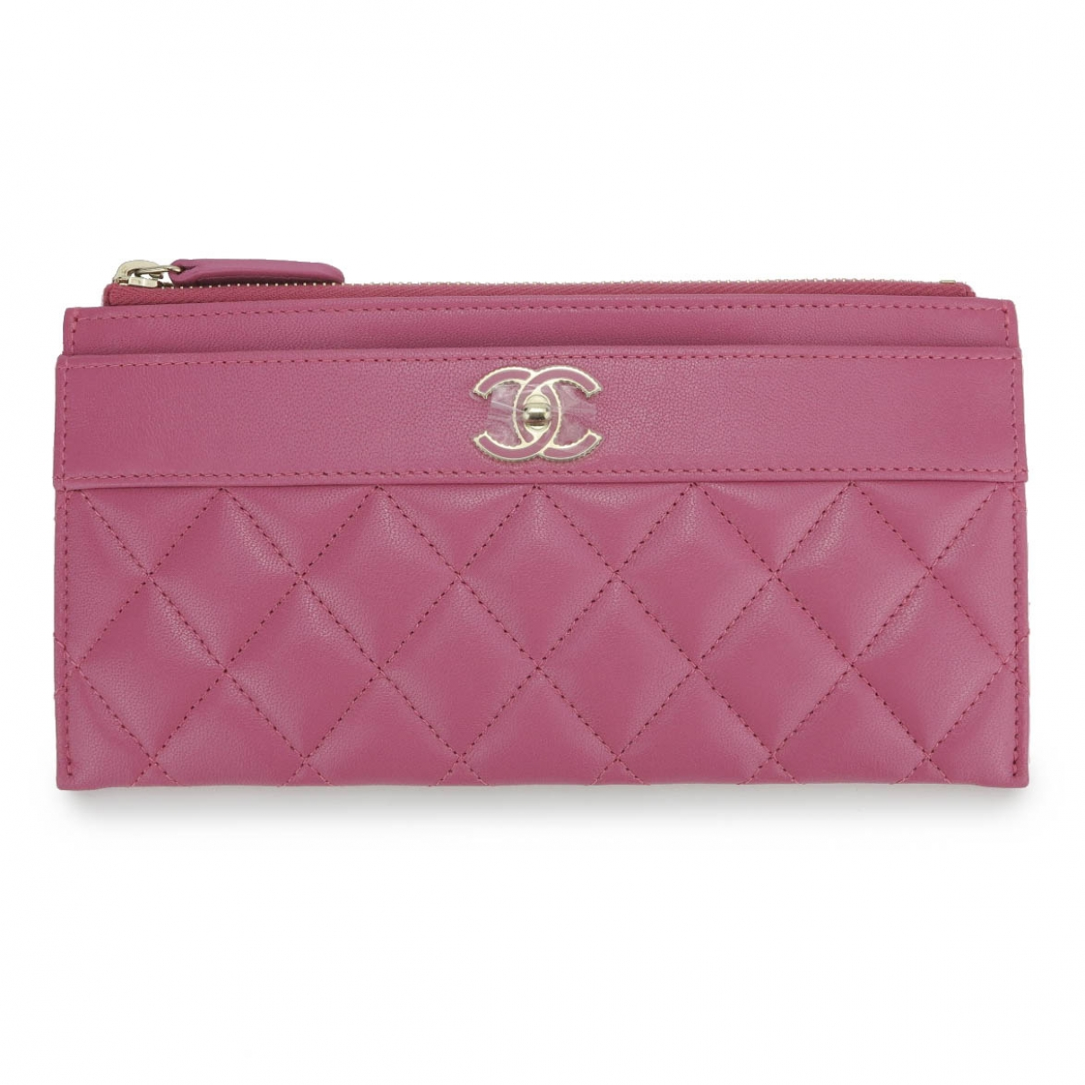 Chanel Timeless/Classique Pink Leather Purses, wallet & cases for Women \N