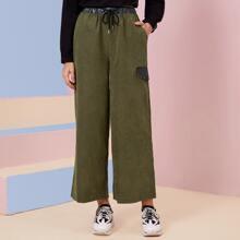 Pantalones Bolsillo Casual