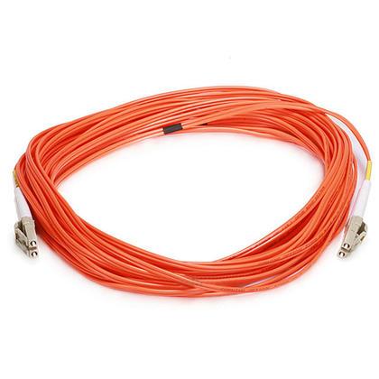 Fiber Optic Cable, OM1 LC/LC, Multi Mode, Duplex (62.5/125 Type) - Orange - Monoprice® - 10m