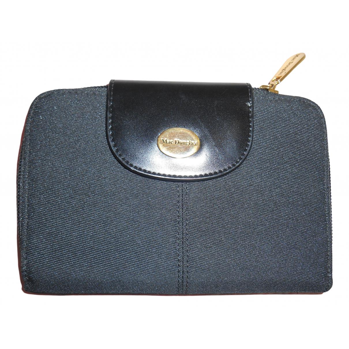 Mac Douglas \N Black Cloth wallet for Women \N