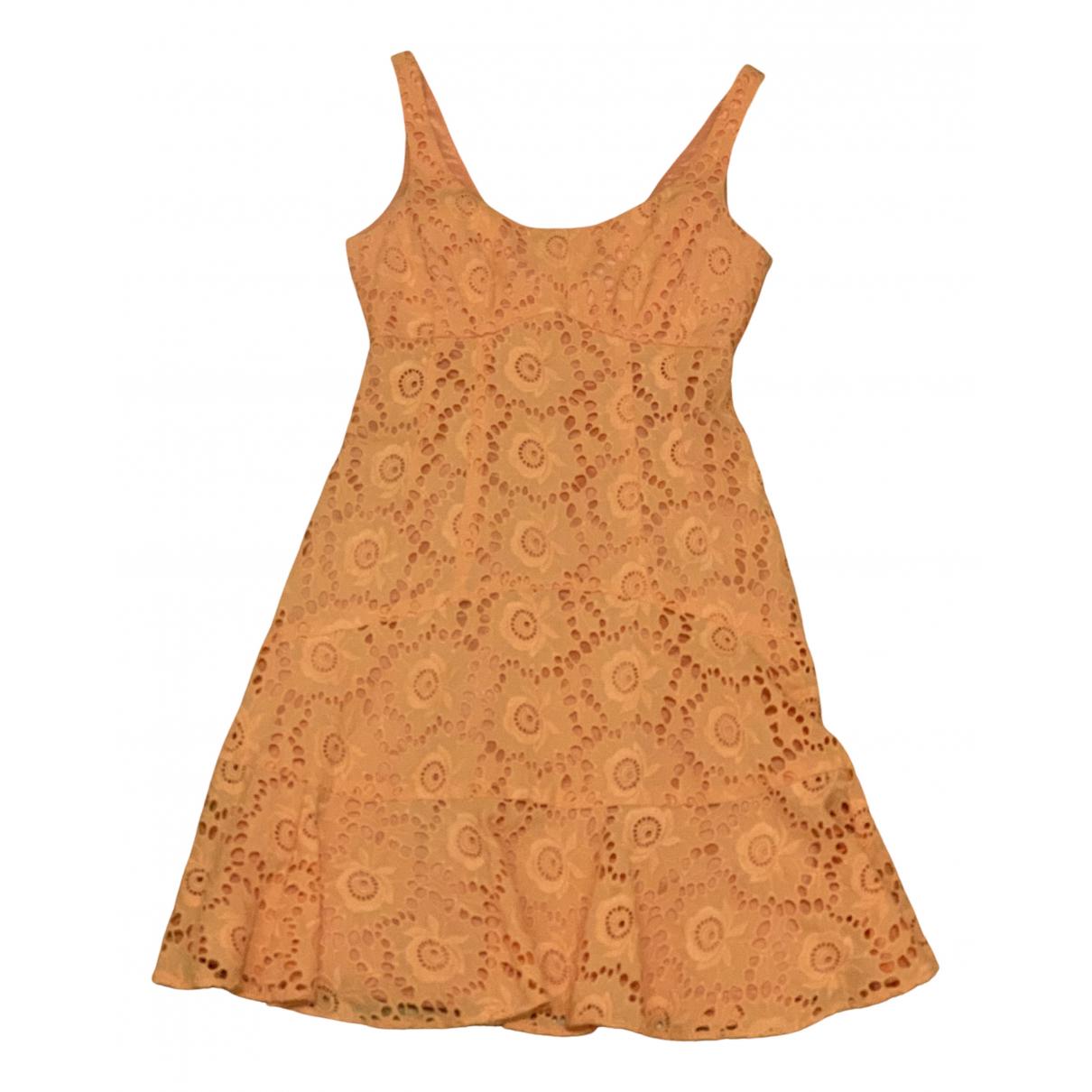 Nanette Lepore - Robe   pour femme en coton - orange