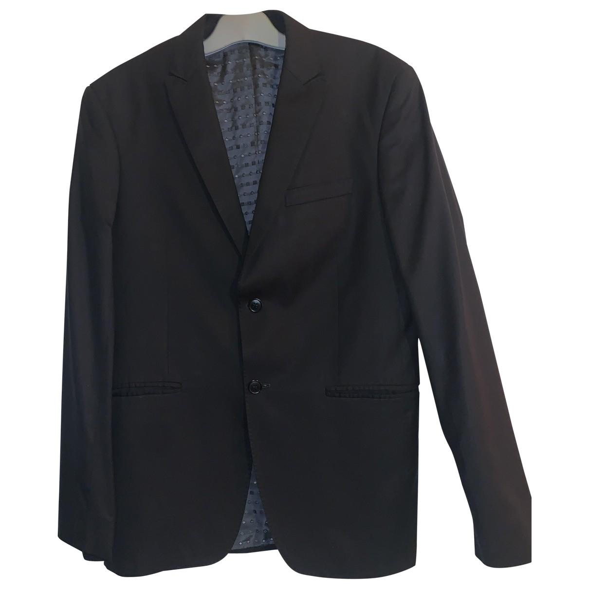 Kenzo - Vestes.Blousons   pour homme en laine - noir