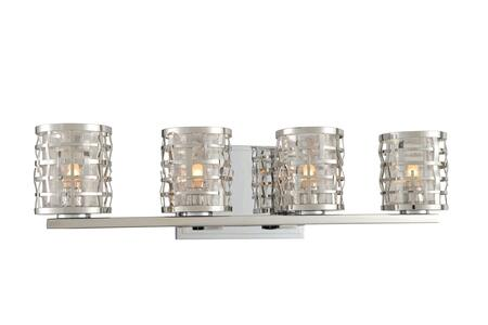 Bridgeport 308734SL 4-Light Bath in Stainless