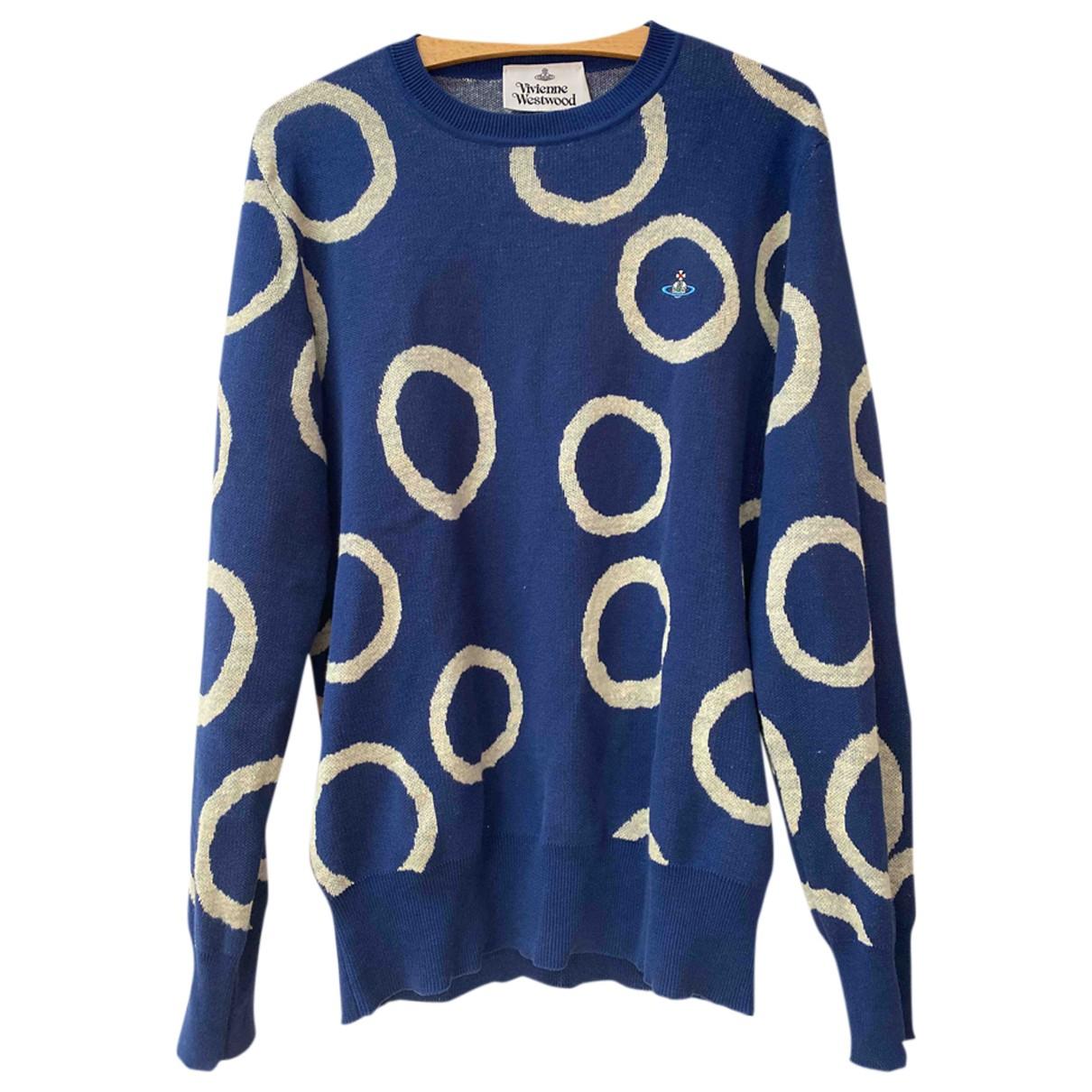 Vivienne Westwood - Pull   pour femme en coton - bleu