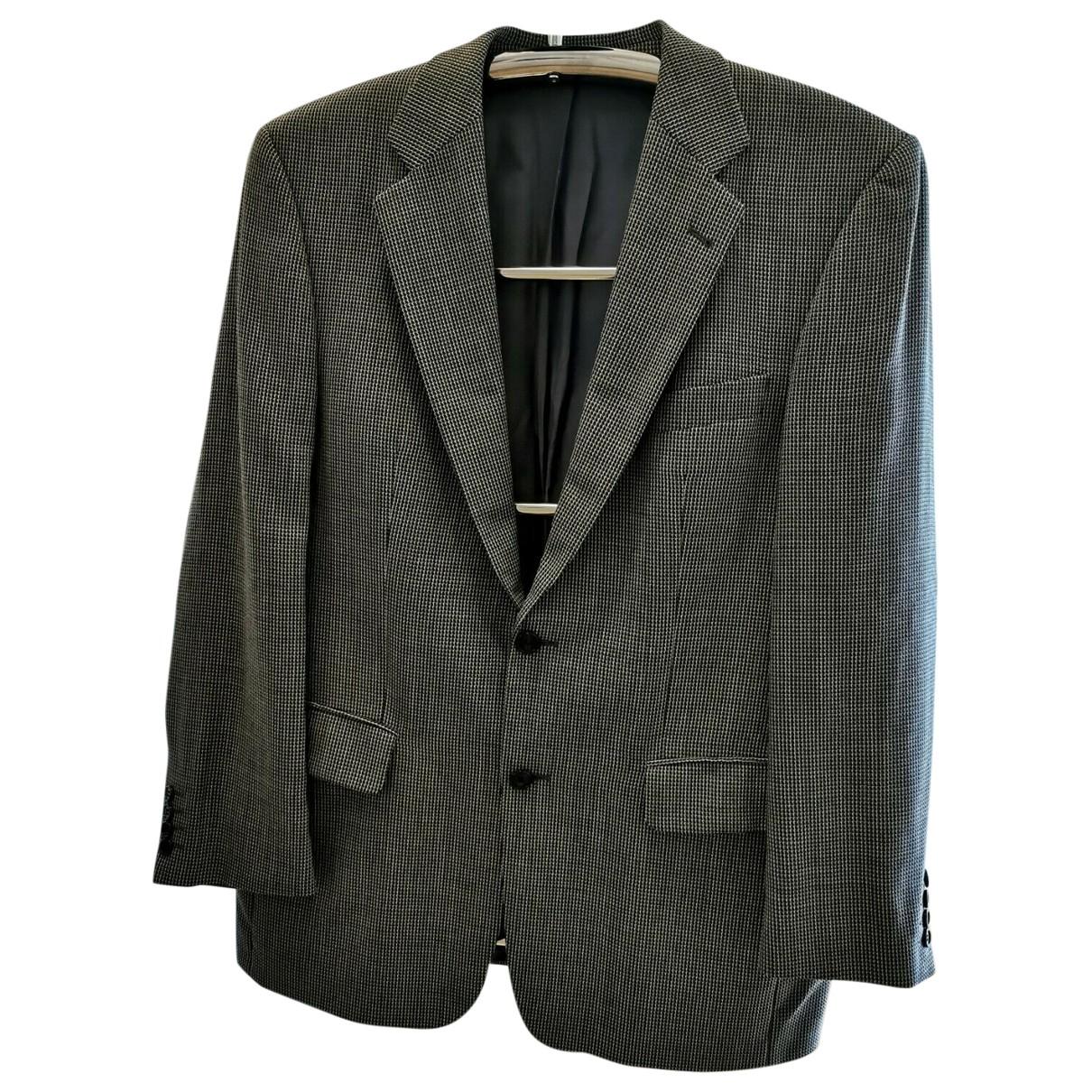 Yves Saint Laurent \N Grey Wool jacket  for Men 52 FR