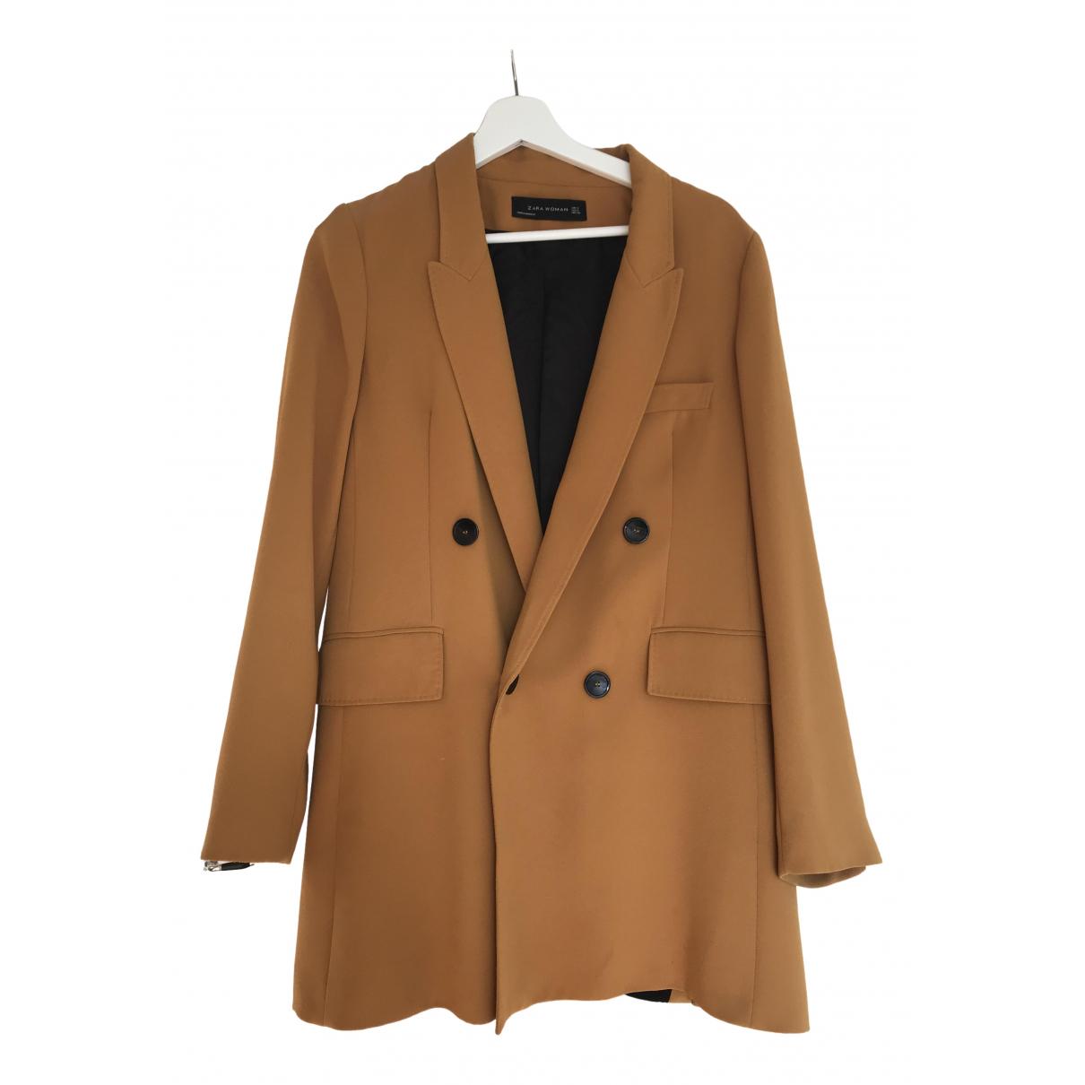 Zara - Veste   pour femme - marron
