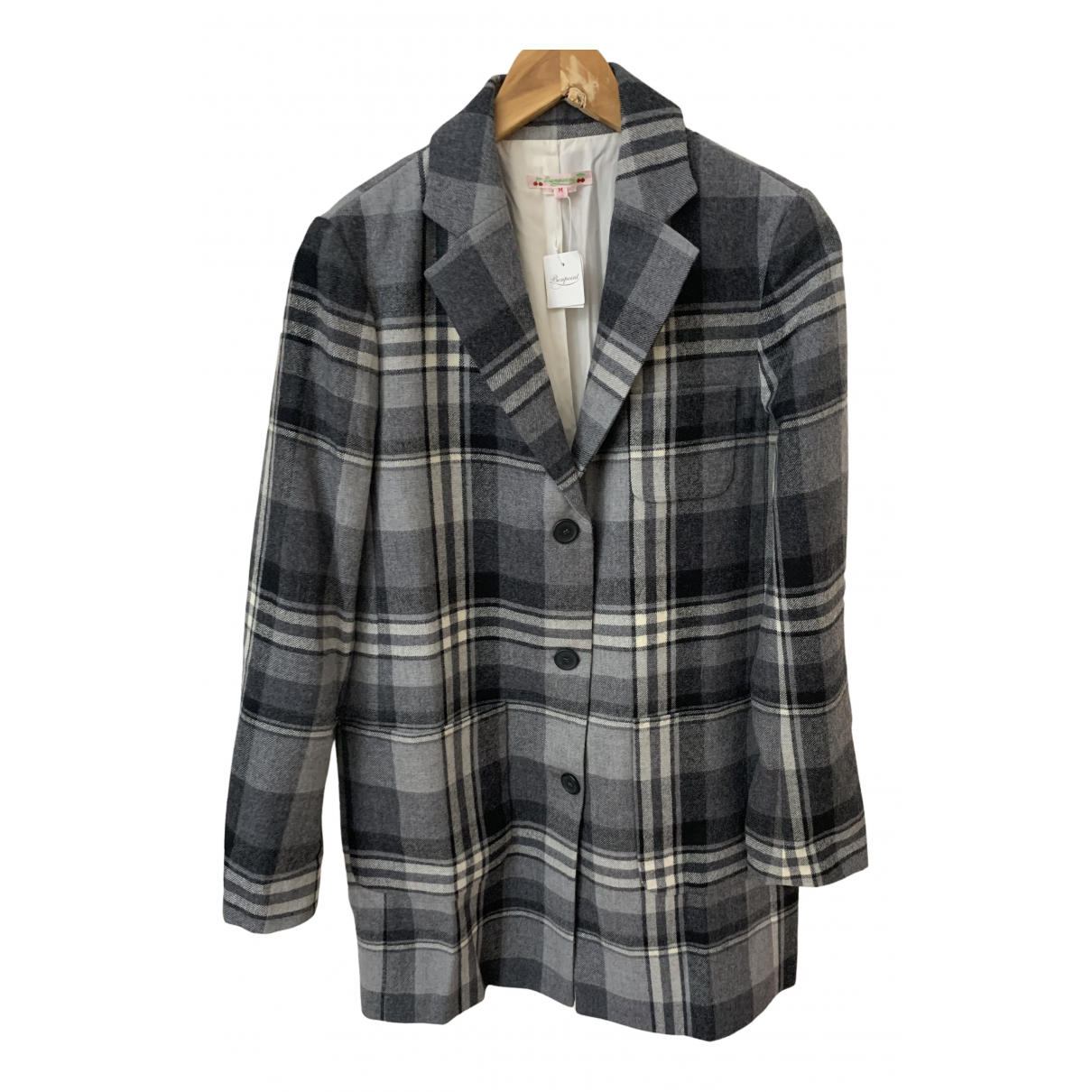 Bonpoint N Grey Wool jacket for Women M International
