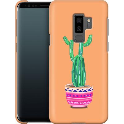 Samsung Galaxy S9 Plus Smartphone Huelle - Cacti Love von Mukta Lata Barua