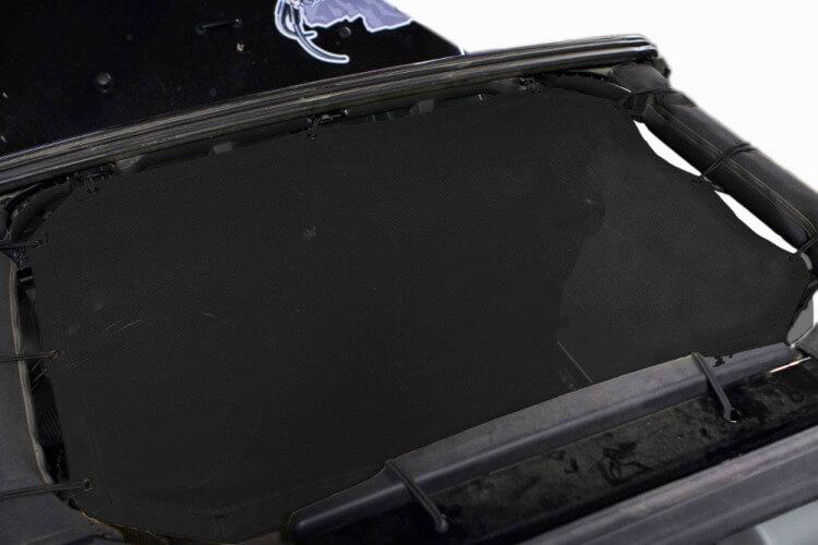 Steinjager J0043993 Tops, Fabric Teddy Wrangler JK 2010-2018 Front Seats only Black