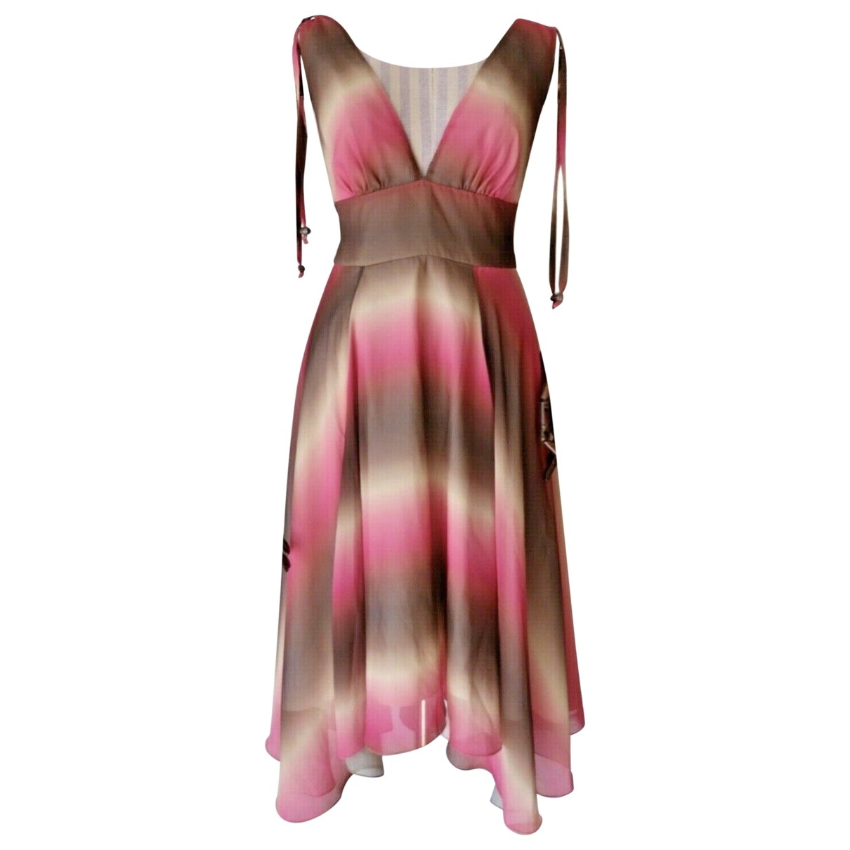 Vestido midi Matthew Williamson