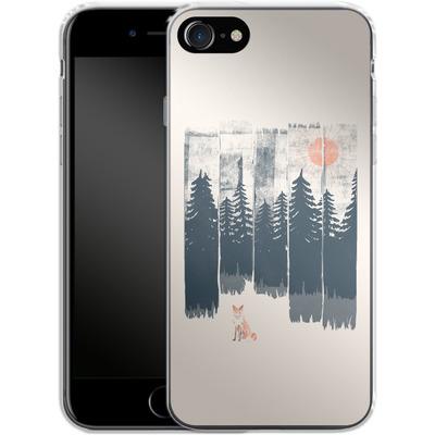 Apple iPhone 7 Silikon Handyhuelle - Fox in the wild von ND Tank