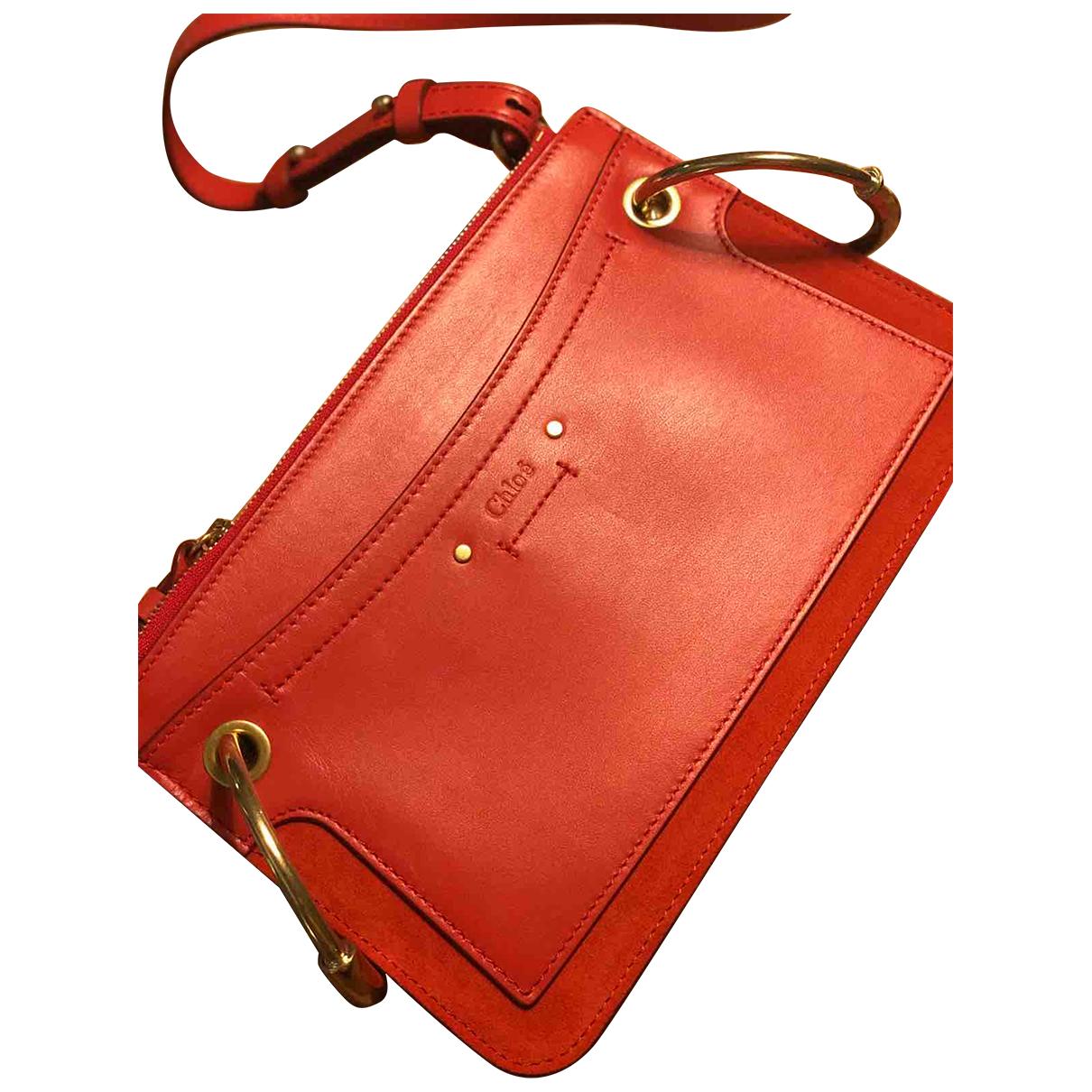 Chloe Roy Handtasche in  Rot Leder