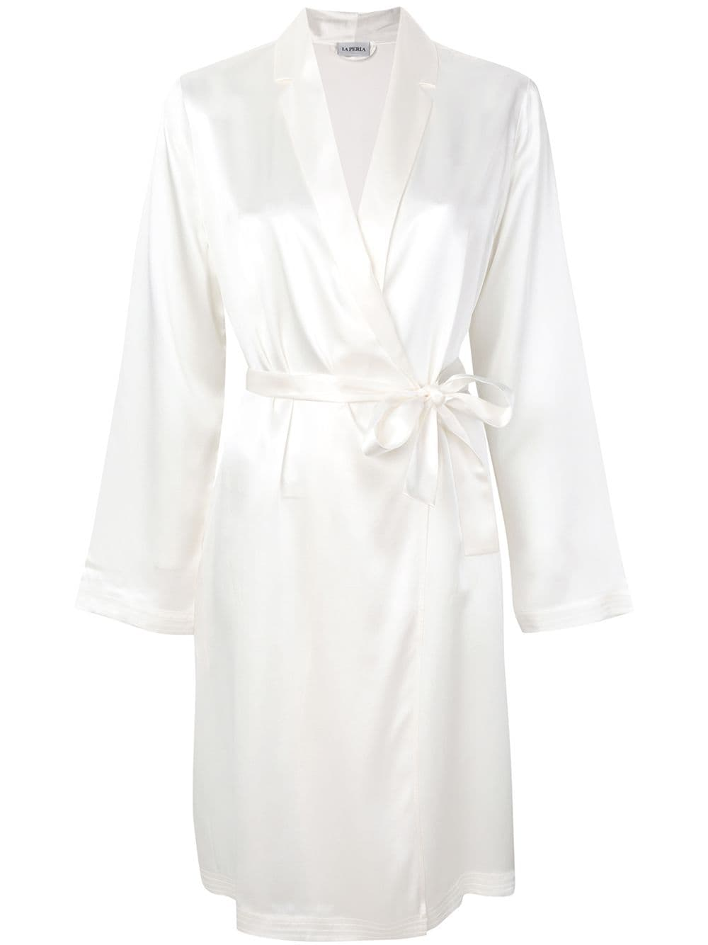 Silk Silk Short Robe