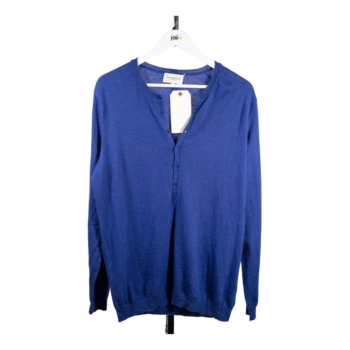 Eric Bompard \N Pullover.Westen.Sweatshirts  in  Blau Kaschmir