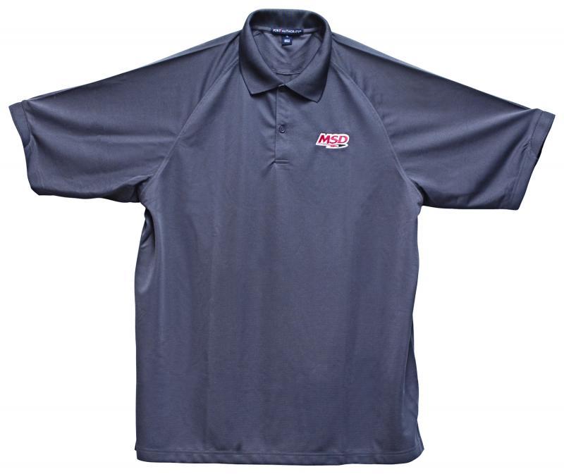 Polo Shirt, MSD, Charcoal, Medium