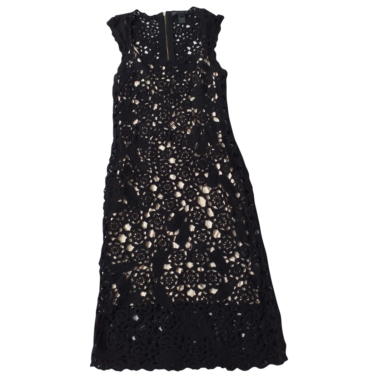 Marc By Marc Jacobs \N Black Cotton dress for Women M International