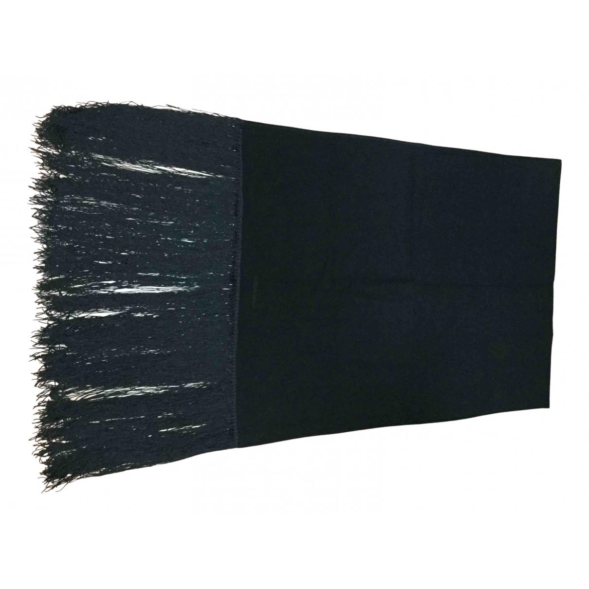 Dolce & Gabbana - Foulard   pour femme en laine - noir