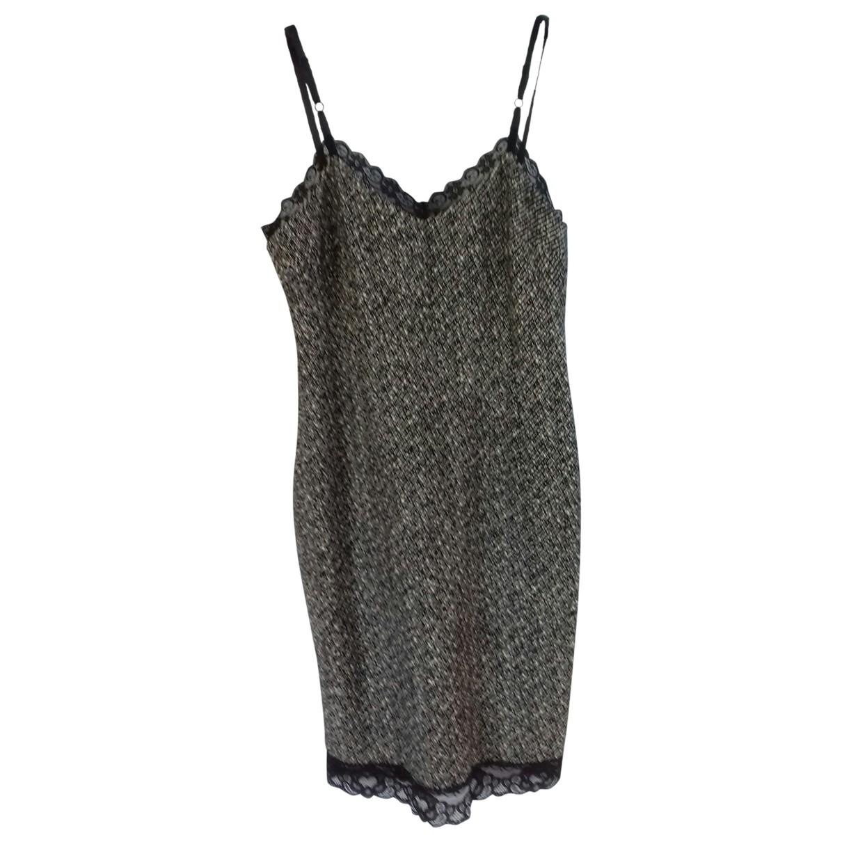 D&g \N Kleid in  Schwarz Wolle