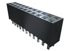 Samtec , SSW 2.54mm Pitch 15 Way 1 Row Vertical PCB Socket, Through Hole, Solder Termination (1000)