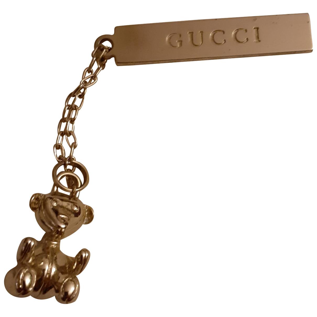 Gucci - Pendentif   pour femme en acier - dore