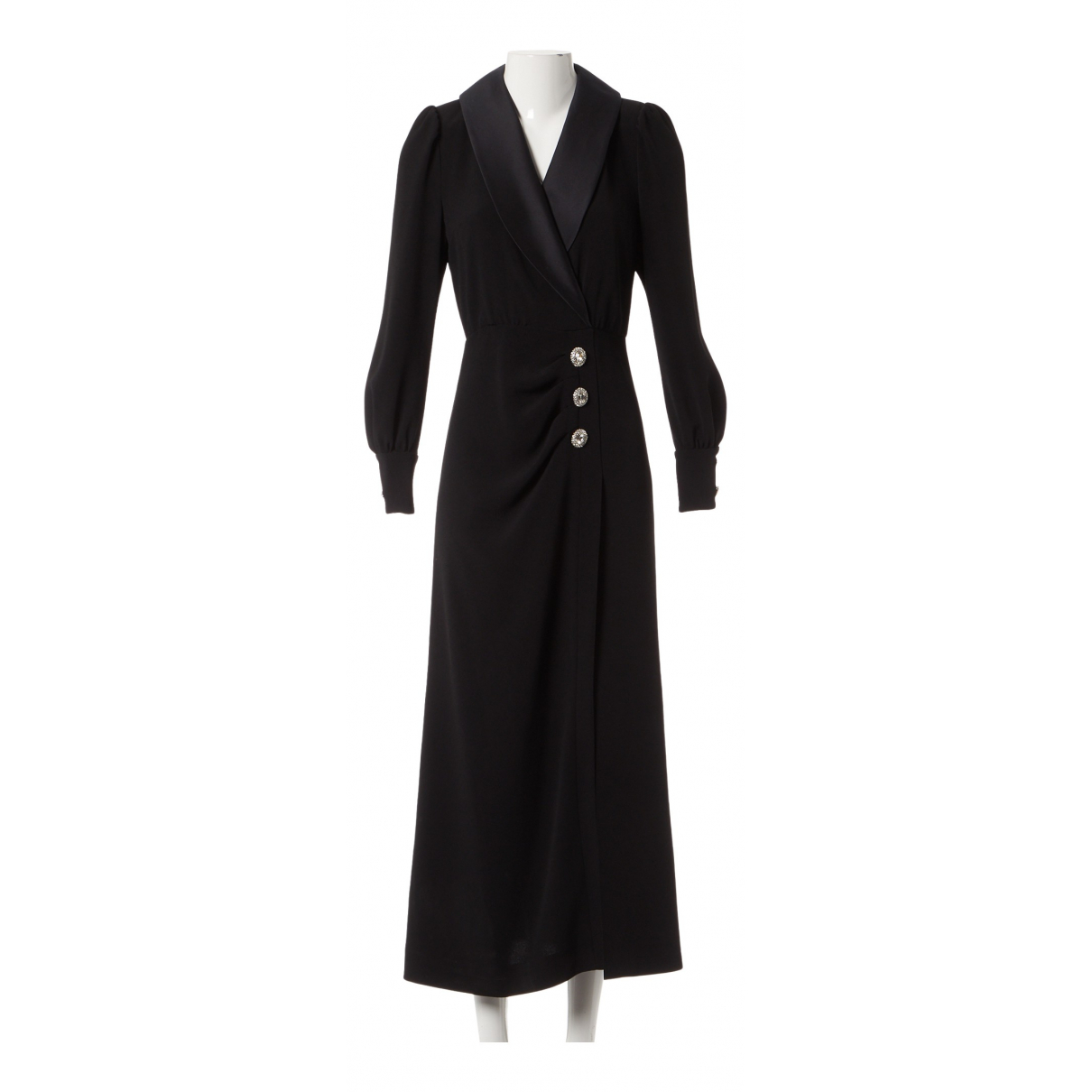Alessandra Rich \N Kleid in  Schwarz Polyester