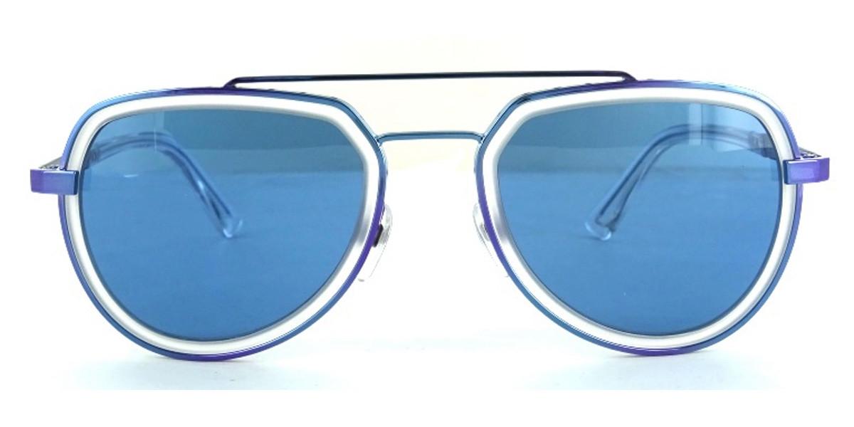 Diesel DL0266 92V Men's Sunglasses Blue Size 53