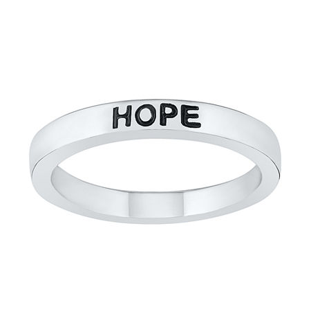 3MM 10K White Gold Round Band, 4 , No Color Family