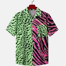 Gespleisstes Hemd mit Knopfen vorn