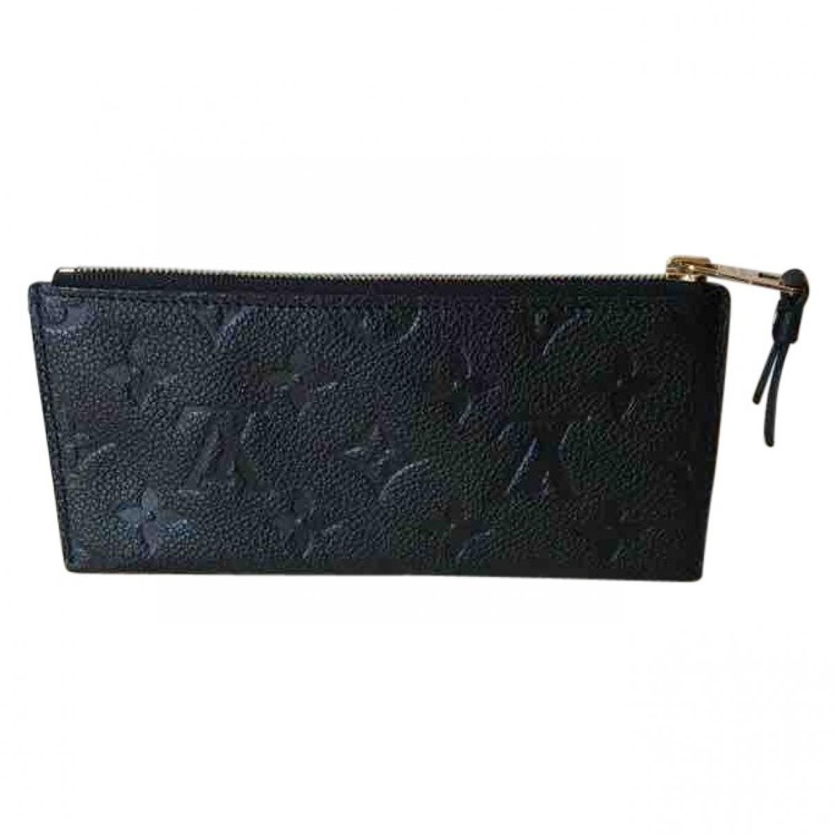 Louis Vuitton Adèle Black Leather Purses, wallet & cases for Women \N