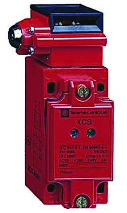 Telemecanique Sensors XCSB Safety Interlock Switch, NO/2NC