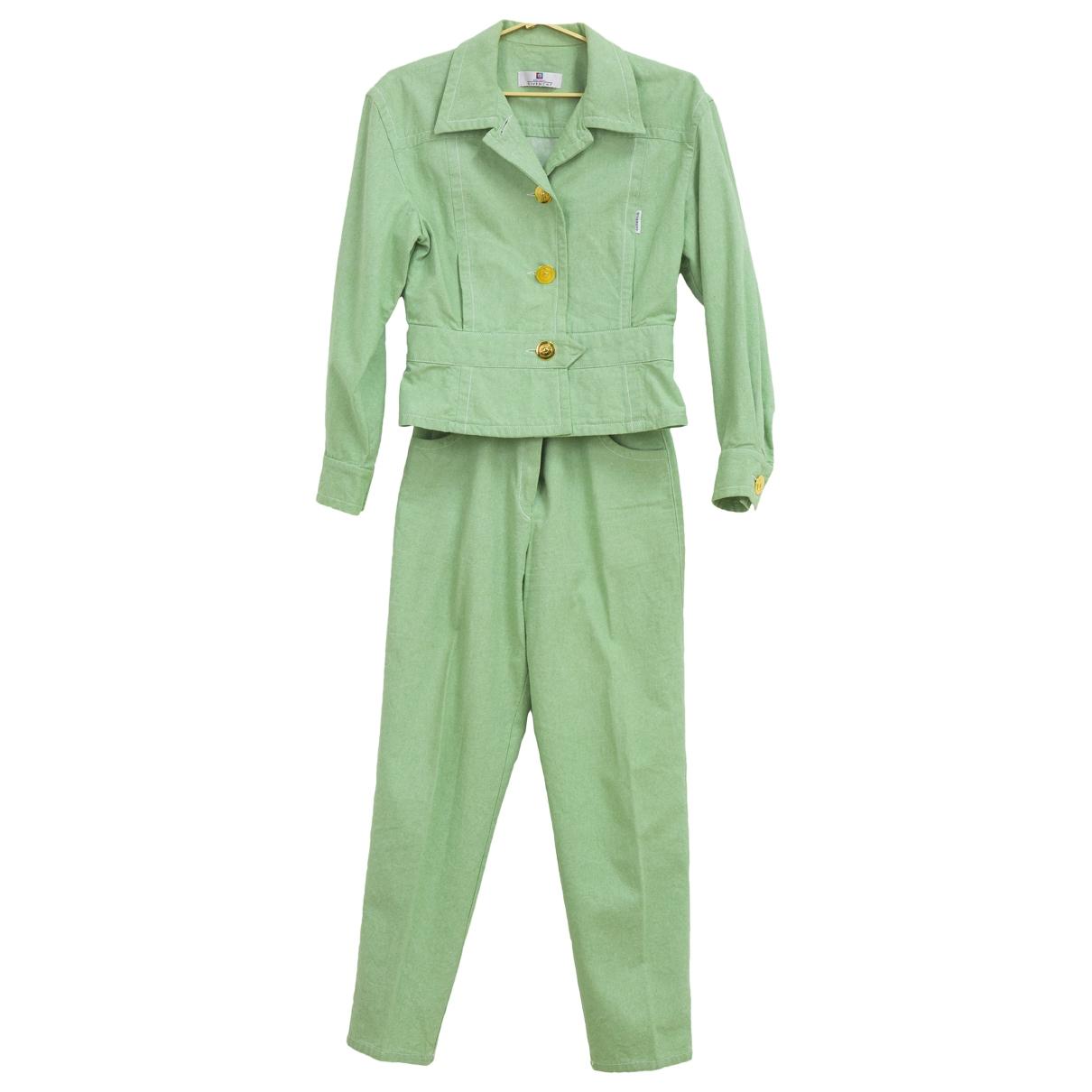 Givenchy - Combinaison   pour femme en coton - vert
