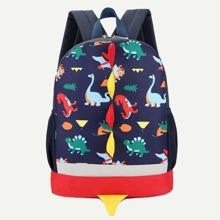 Kids Dinosaur Print Backpack