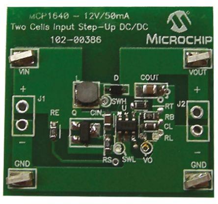 Microchip ARD00386 Boost Converter for MCP1640